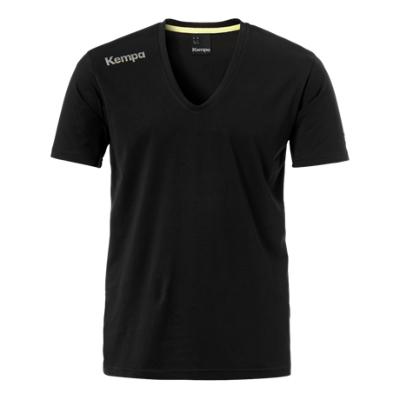 ケンパ コア Vネック コットン Tシャツ 3色展開 ジュニア